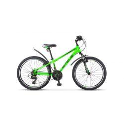 """Подростковый велосипед Stels Navigator 400 V F010 (2020) Зеленый 24"""""""
