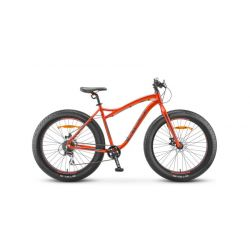"Горный велосипед Stels Aggressor MD 26"" V010 (2019) Красно-серый 18"""