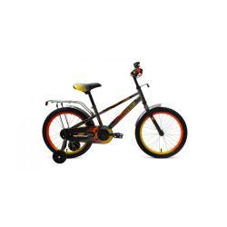 """Детский велосипед Forward Meteor 18 (2019) Бирюзово-красный 18"""""""