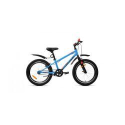 """Детский велосипед Forward Unit 20 1.0 (2020) Желтый 20"""""""