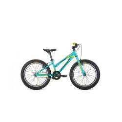 """Детский велосипед Format 7424 (2020) Бирюзово-черно-желтый 20"""""""