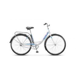"""Комфортный велосипед Stels Navigator 345 Z010 (2018) Морская волна 20"""""""