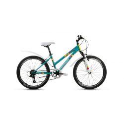 """Подростковый велосипед Forward Iris 24 1.0 (2019) Желтый 24"""""""
