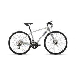 """Женский велосипед Giant Thrive 2 (2020) Серебристо-фиолетовый 18.5"""""""