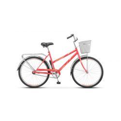 "Женский велосипед Stels Navigator 210 Lady Z010 (2018) Розовый 19"""