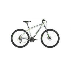 """Горный велосипед Kellys VIPER 50 27.5"""" (2018) Серо-черно-зеленый 15.5"""""""