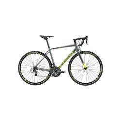 Шоссейный велосипед Silverback Strela Comp (2019) Серо-салатово-черный 56 см