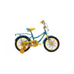 """Детский велосипед Forward Funky 16 (2019) Бирюзово-красный 16"""""""