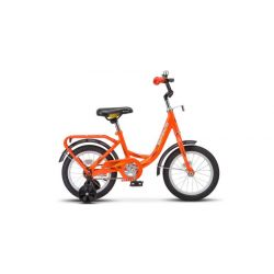 "Детский велосипед Stels Flyte 14"" Z011 (2018) Зеленый 14"""
