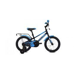 """Детский велосипед Forward Meteor 16 (2020) Серо-голубо-оранжевый 16"""""""