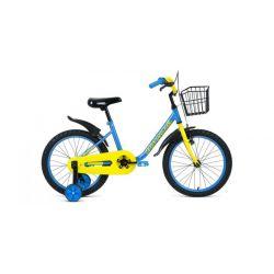 """Детский велосипед Forward Barrio 18 (2019) Голубой 18"""""""