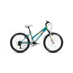 """Подростковый велосипед Forward Iris 24 1.0 (2018) Коричневый 24"""""""