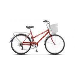 "Женский велосипед Stels Navigator 250 Lady Z010 (2018) Розовый 19"""