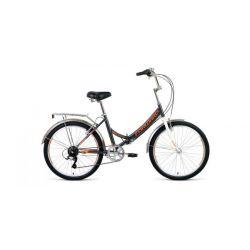 """Складной велосипед Forward Valencia 24 2.0 (2020) Серо-бежевый 24"""""""