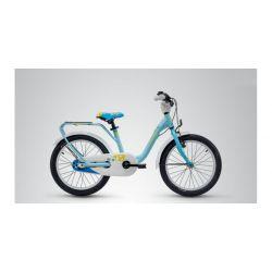 """Детский велосипед Scool niXe 18 3 ск. alloy (2018) Голубой 18"""""""