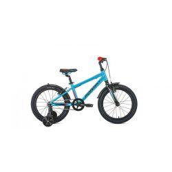 """Детский велосипед Format Kids 18 (2020) Голубой 18"""""""