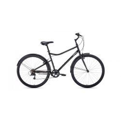 """Комфортный велосипед Forward Parma 28 (2020) Серо-черный 28"""""""