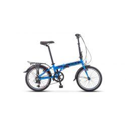 """Складной велосипед Stels Pilot 630 V020 (2019) Темно-зеленый 20"""""""