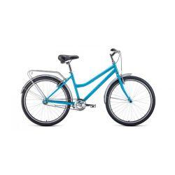 """Комфортный велосипед Forward Barcelona 26 1.0 (2020) Серый 17"""""""