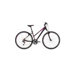 """Женский велосипед Kellys PHEEBE 10 (2018) Черно-бирюзовый 17"""""""