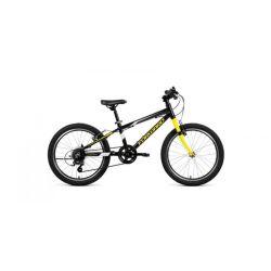 """Детский велосипед Forward Rise 20 2.0 (2020) Фиолетово-желтый 20"""""""