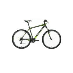 """Горный велосипед Kellys VIPER 10 27.5"""" (2018) Черно-серо-зеленый 21.5"""""""