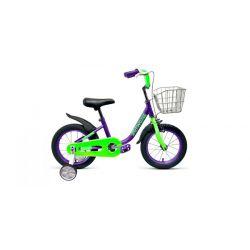 """Детский велосипед Forward Barrio 14 (2019) Фиолетовый 14"""""""