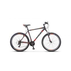 "Горный велосипед Stels Navigator 700 V V020 (2019) Черно-зеленый 17.5"""