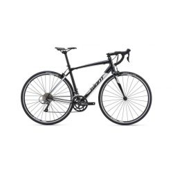 Шоссейный велосипед Giant Contend 3 (2019) Черно-белый 50 см