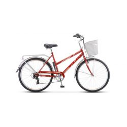"""Женский велосипед Stels Navigator 250 Lady Z010 (2018) Фиолетовый 19"""""""