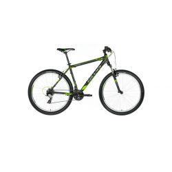 """Горный велосипед Kellys VIPER 10 27.5"""" (2018) Черно-серо-зеленый 19.5"""""""