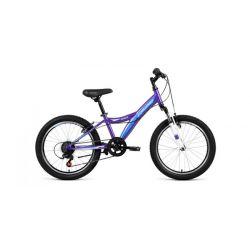 "Детский велосипед Forward Dakota 20 2.0 (2019) Фиолетово-синий 20"""
