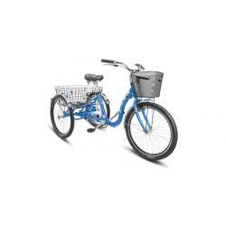 """Комфортный велосипед Stels Energy IV V020 (2018) Синий 24"""""""