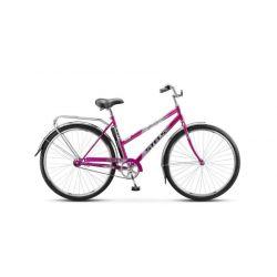 """Женский велосипед Stels Navigator 300 Lady Z010 (2018) Фиолетовый 20"""""""