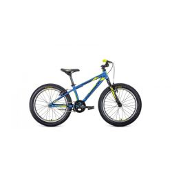 """Детский велосипед Format 7414 (2020) Сине-черно-желтый 20"""""""