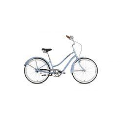 """Женский велосипед Stinger Cruiser Lady 26"""" (2018) Синий 16.5"""""""
