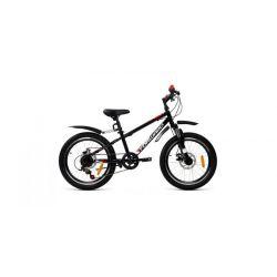 """Детский велосипед Forward Unit 20 3.0 disc (2020) Черно-белый 20"""""""