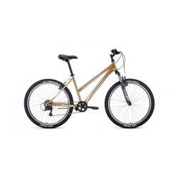 """Женский велосипед Forward Iris 26 1.0 (2020) Фиолетовый 17"""""""