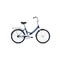 """Складной велосипед Forward Valencia 24 1.0 (2020) Сине-серый 24"""""""