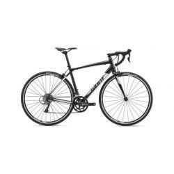 Шоссейный велосипед Giant Contend 3 (2019) Черно-белый 53.5 см