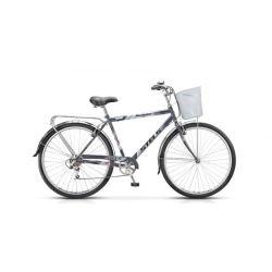 """Комфортный велосипед Stels Navigator 350 Gent Z010 (2018) Синий 20"""""""