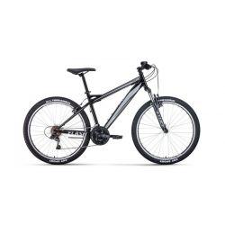 """Горный велосипед Forward Flash 26 1.0 (2020) Черно-серый 17"""""""