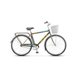 """Комфортный велосипед Stels Navigator 300 Gent Z010 (2018) Серый 20"""""""