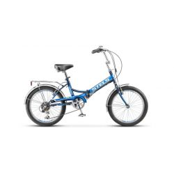 "Складной велосипед Stels Pilot 450 Z011 (2018) Синий 20"""