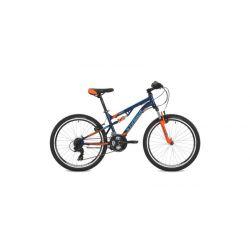 """Подростковый велосипед Stinger Discovery 24"""" (2018) Синий 14"""""""