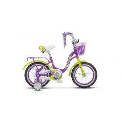 """Детский велосипед Stels Jolly 14"""" V010 (2019) Фиолетовый 14"""""""