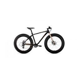 """Горный велосипед Forward Bizon 26 (2020) Черно-бежевый 18"""""""