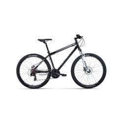 """Горный велосипед Forward Sporting 27,5 2.0 Disc (2020) Серо-черный 17"""""""