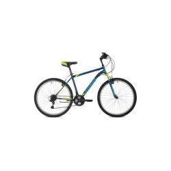 """Горный велосипед Stinger Caiman 26"""" (2018) Синий 16"""""""