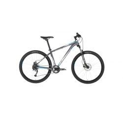 """Горный велосипед Kellys SPIDER 30 27.5"""" (2018) Черно-серо-зеленый 13.5"""""""